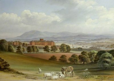 Crichton hospital in 1847 by Joseph Watson (1808 – 1878) Photo credit: NHS Dumfries and Galloway