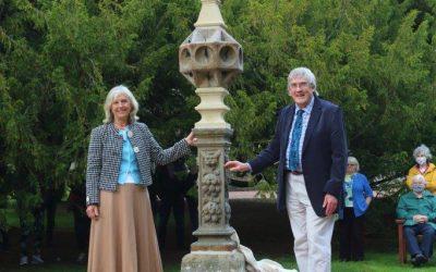 Ellon Castle sundial unveiling