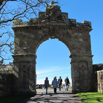 Culzean Castle, Fish Gate. Photograph © Matthew Benians